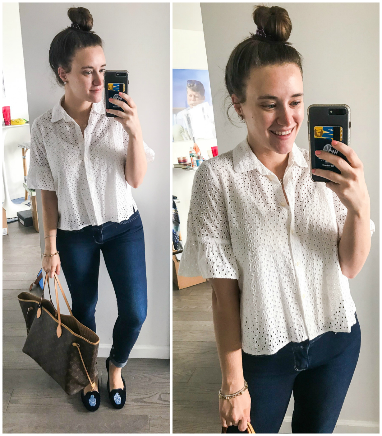 Summer office outfit featured by popular New York fashion blogger, Covering the Bases