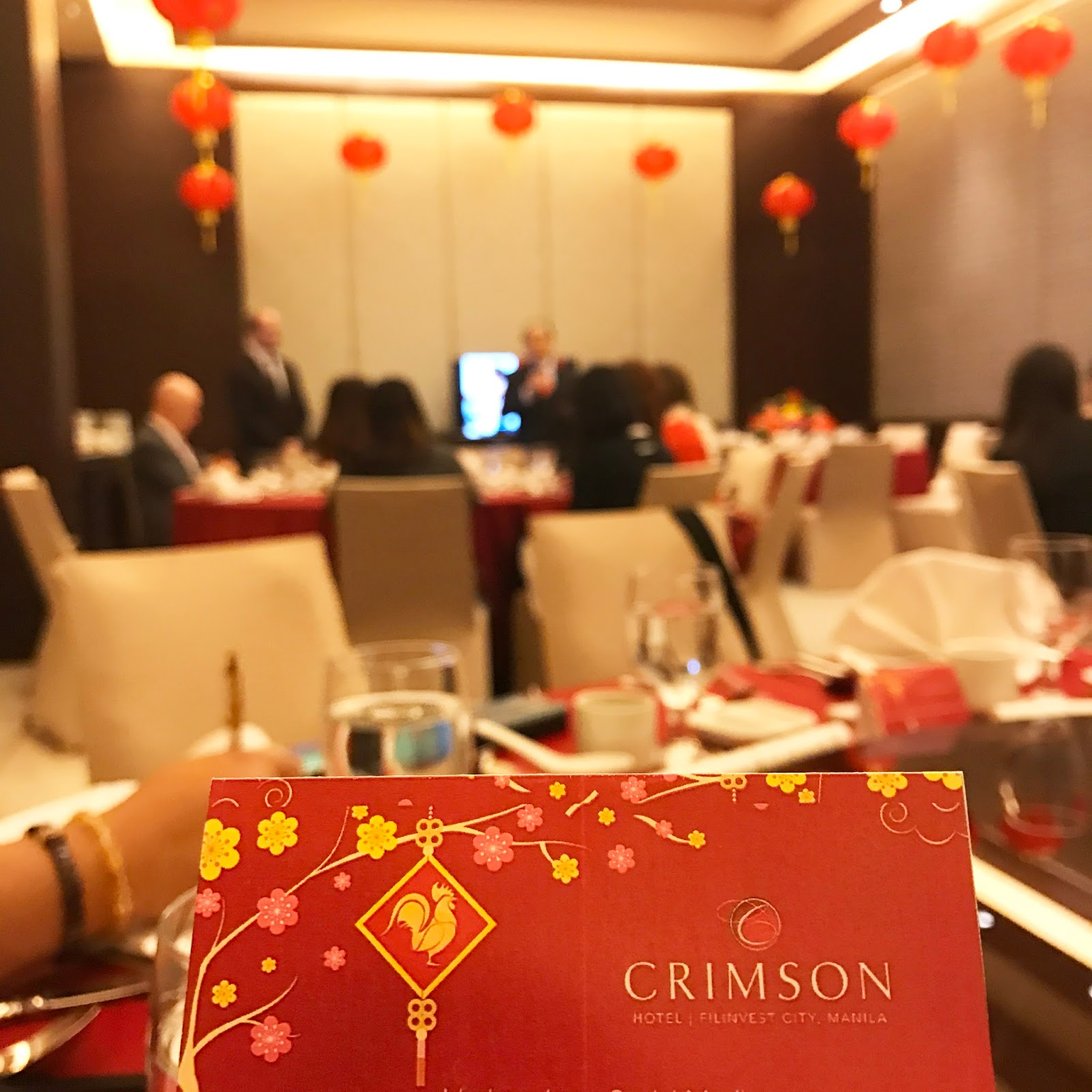 Celebrate Chinese New Year at Crimson Hotel In Filinvest, Alabang