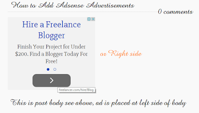 Place Adsense Ads on Websites and Blogs