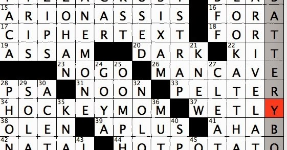 Rex Parker Does the NYT Crossword Puzzle: Swimmer featured
