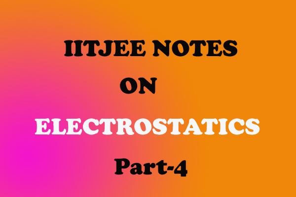 electrostatics iitjee question