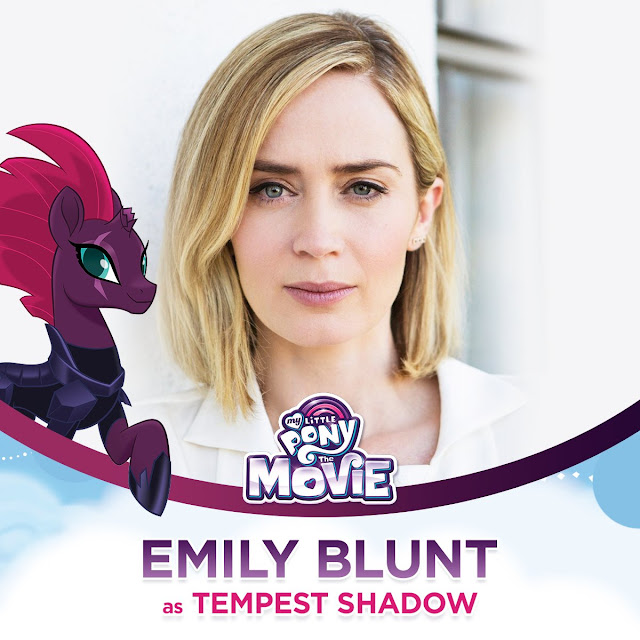 Emily Blunt as Tempest Shadow The My Little Pony Movie