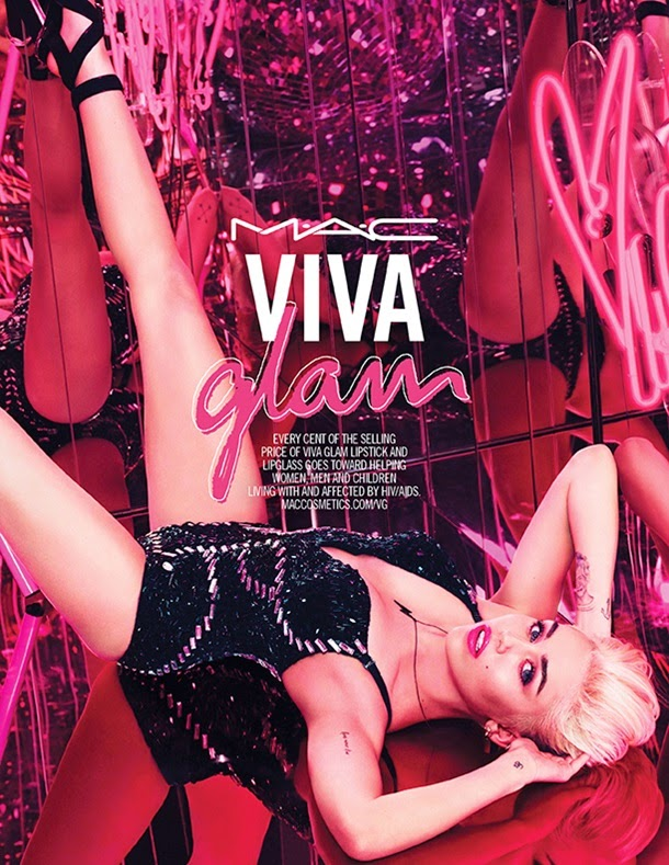 Miley Cyrus is announced as the MAC Viva Glam Spokesperson for 2015