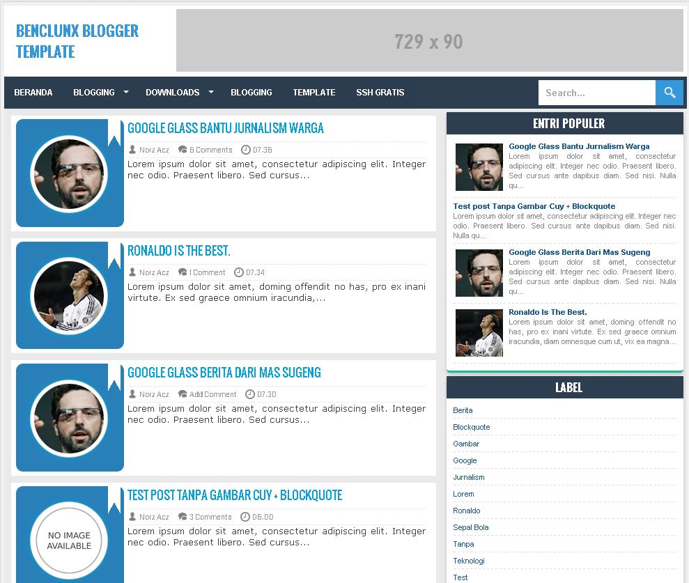 Downloads benclunx responsive minimalist blogger template for What is a responsive template