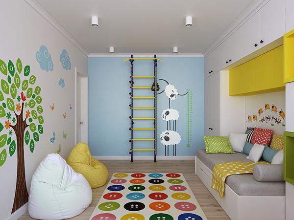 quarto infantil misto