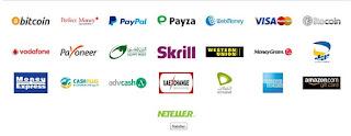 طرق الدفع فى موقع File-Upload لرفع الملفات والربح من التنزيلات