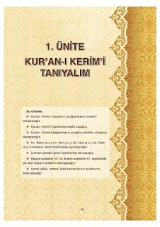 5. Sınıf Kuranı Kerim Ders Kitabı Cevapları Mevsim Yayınları Sayfa 10