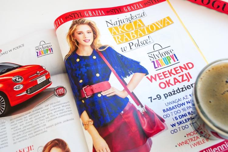 Weekend zniżek z magazynami Twój Styl i Grazia 7-9 października