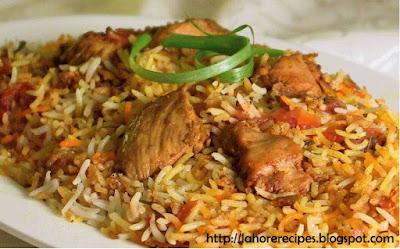 Chicken Biryani Recipe in Roman Urdu - lahorerecipes.blogspot.com