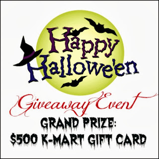 Enter the Happy Hallowe'en Giveaway Event, Ends 10/28.