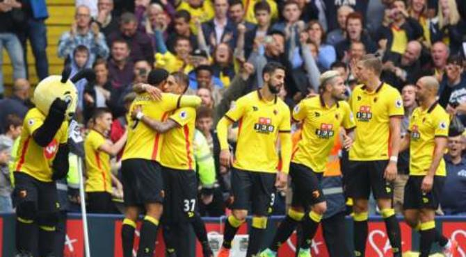 Watford overcame Manchester United at Vicarage Road to continue Jose Mourinho's nightmare week, with the 3-1 win sending the Red Devils to three defeats in a row. Etienne Capoue put the hosts in front in the first half, before Marcus Rashford capitalised on a loose ball to equalise.
