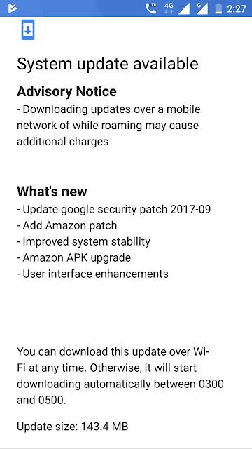 Nokia 6 September Security Update