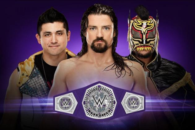 WWE Cruiserweight 205 Live TJ Perkins Brian Kendrick Lince Dorado