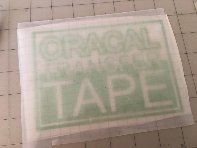 gridded transfer tape, best transfer tape, clear transfer tape, reusable transfer tape