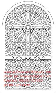 desain krawangan masjid