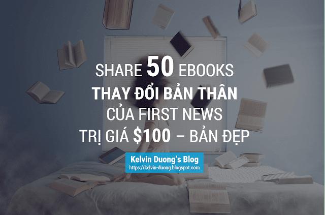 Share 50 Ebooks THAY ĐỔI BẢN THÂN Trị Giá $100 - Bản đẹp