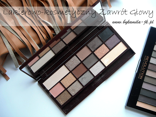 Paleta cieni Makeup Revolution Death by Chocolate