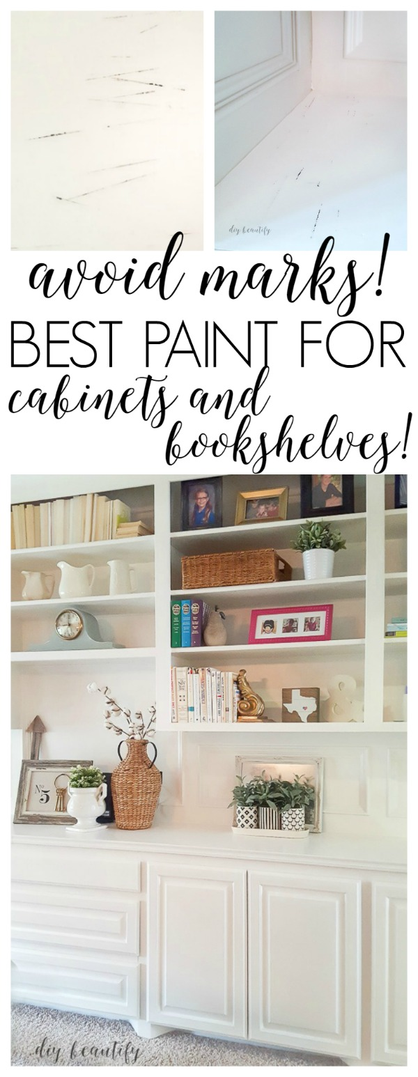 Choosing The Right Paint For Bookshelves And Cabinets