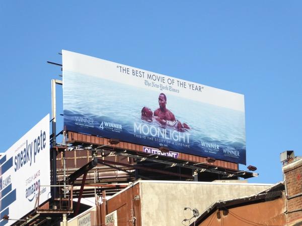 Moonlight movie awards consideration billboard