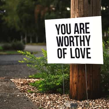 romantic good morning quotes with you are worthy of love