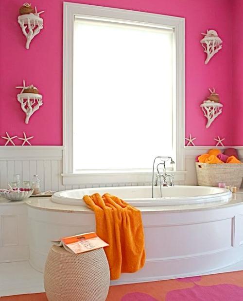 Decorative Coastal Shelves for Bathroom