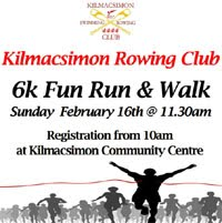 6k fun run & walk nr Innishannon - Sun 16th Feb 2020