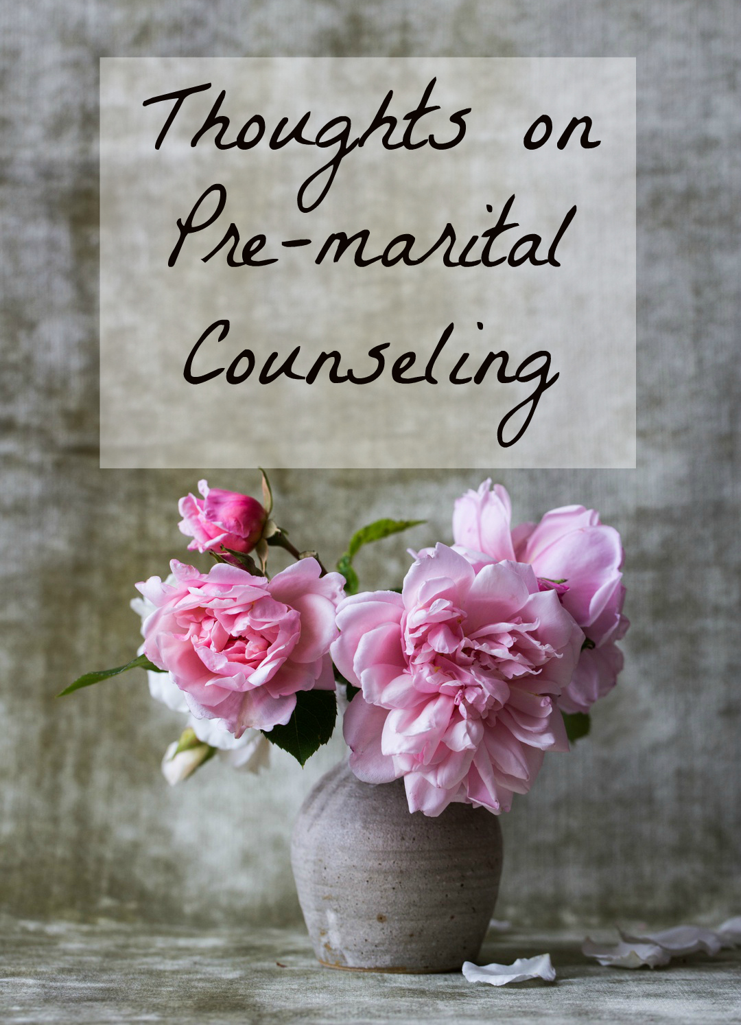 Beautiful Hope Thoughts On Pre Marital Counseling