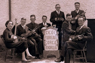 Corcomroe Céilí Band c 1960