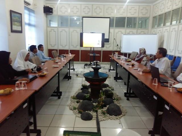 Rapat Koordinasi Prodi MPI dengan LP2M IAIN Palangka Raya