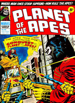 Marvel UK, Planet of the Apes #68, Conquest