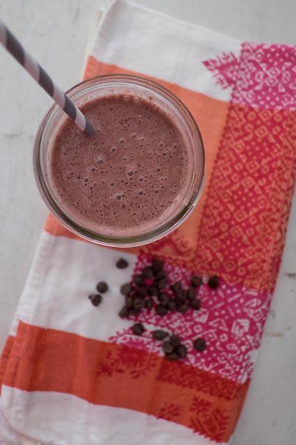 Cherry Chocolate Smoothie Recipe