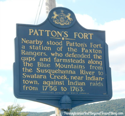 Patton's Fort Historical Marker in Linglestown Pennsylvania