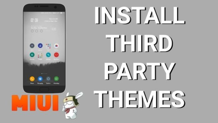 How to Install Third Party Themes in MIUI 10 & MIUI 9