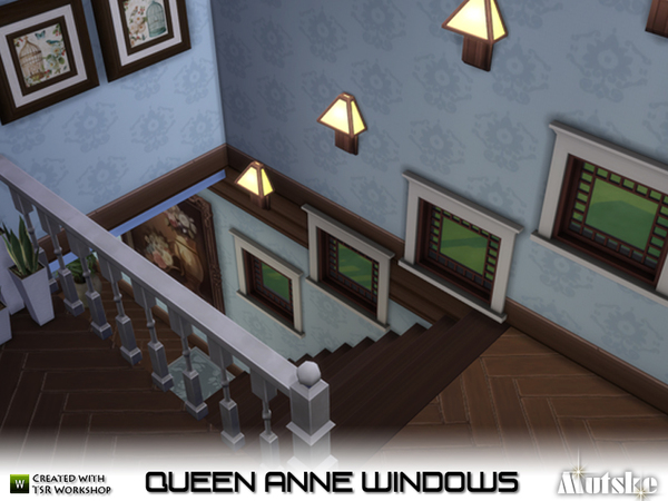 My sims 4 blog queen anne windows by mutske for Queen anne windows