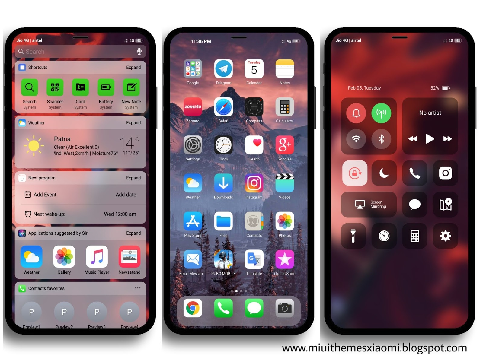 iPhone XS Max MIUI Theme Download For Xiaomi Mobile || MIUI Themes
