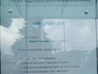 Lowongan kerja Padang - sales promotion girl (SPG)