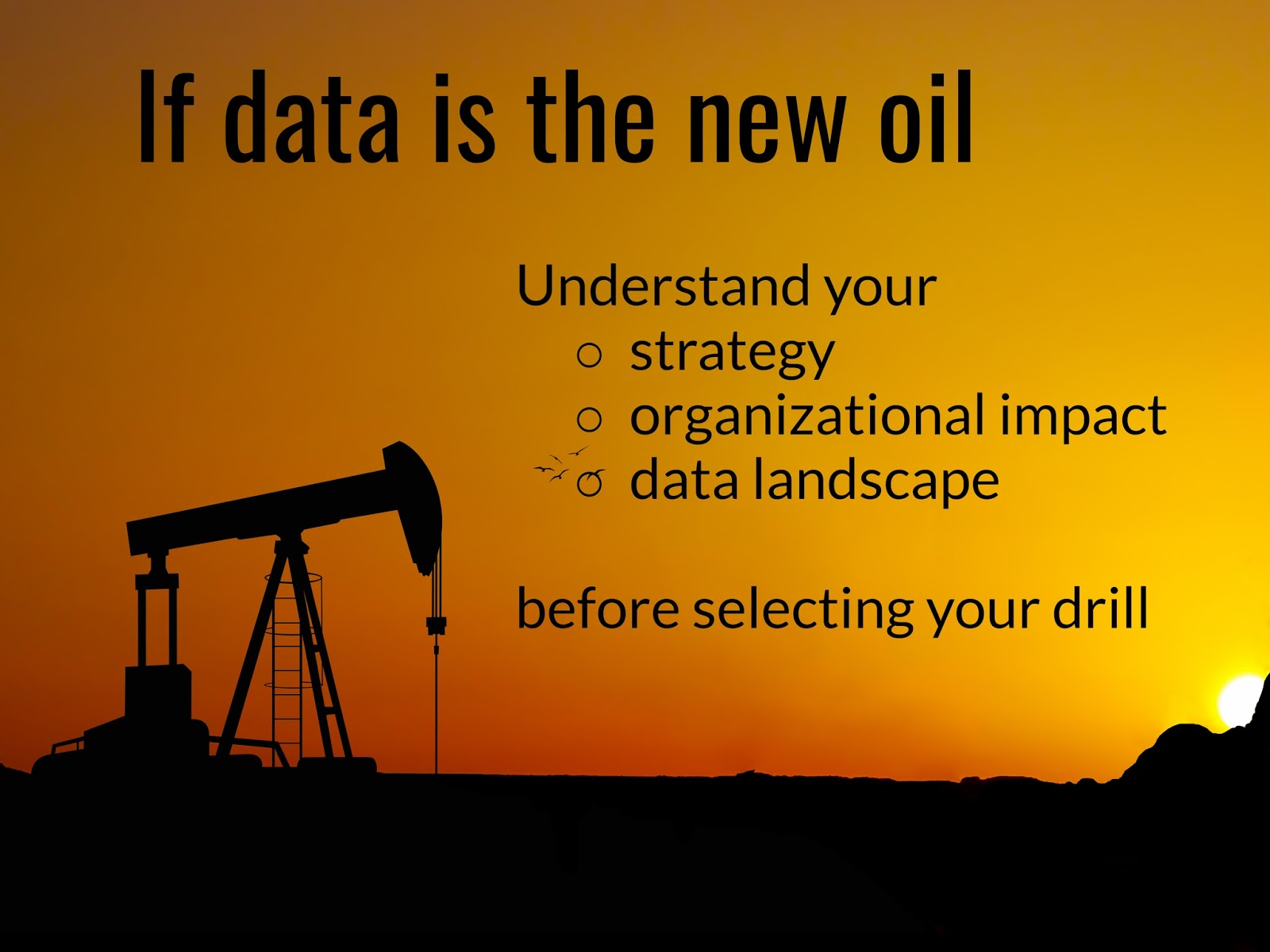 the new oil A new commodity spawns a lucrative, fast-growing industry, prompting  are  being raised by the giants that deal in data, the oil of the digital era.