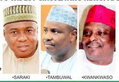 Buhari & His Men Watching Saraki, Kwankwaso, Others Next Move