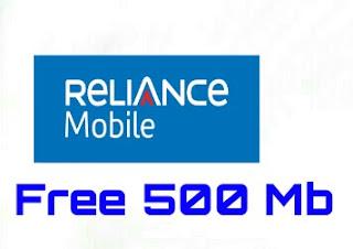 Free Reliance Internet data
