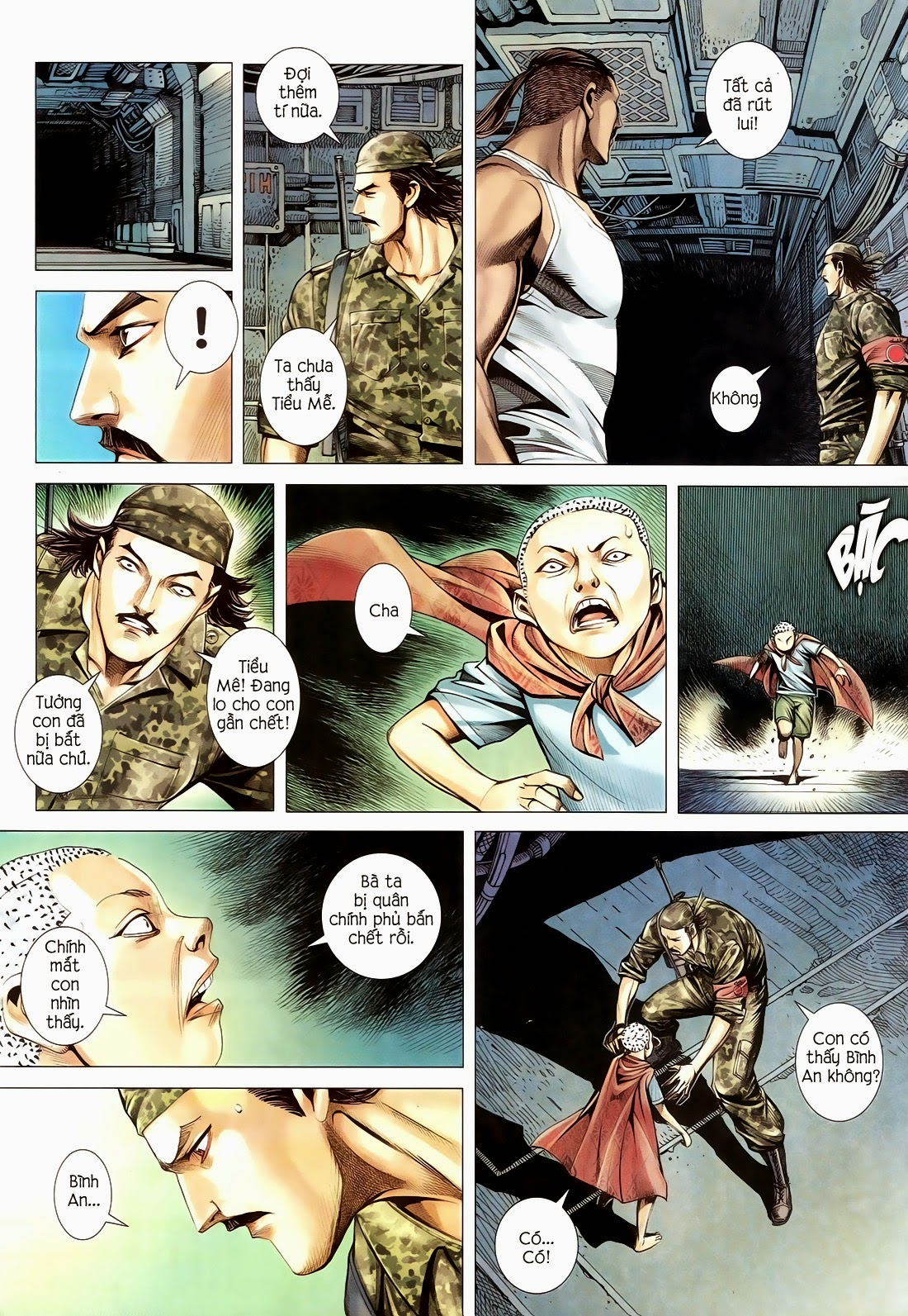 Đại Quân Phiệt chap 14 trang 27