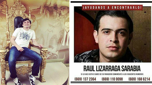 Desaparece en Tijuana el cantante sinaloense Raúl Lizarraga, su desaparición lo ligan a los narcocorridos que cantaba