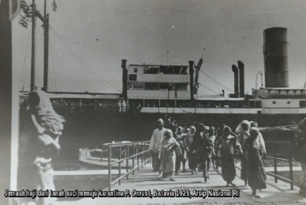 Karantina Haji Pulau Onrust 1911
