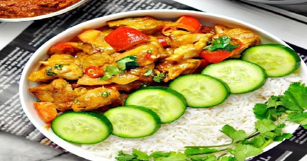 5-Ingredients Satay Chicken Stir-Fry' Recipe