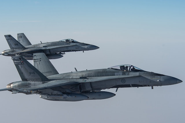 CANADIAN HORNETS SAFEGUARD ICELANDIC AIRSPACE