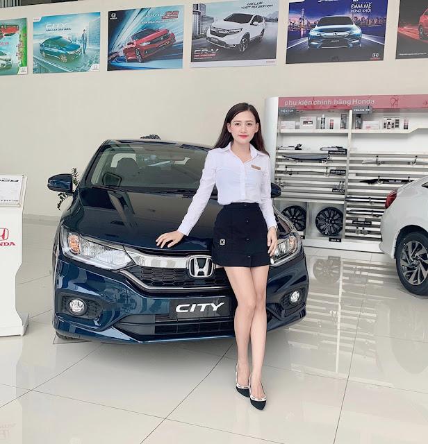 Các thuật ngữ viết tắt thường dùng chuyên ngành ô tô| Honda CVT| 4WD| AWD| Gái xinh bán hàng Honda City Sales