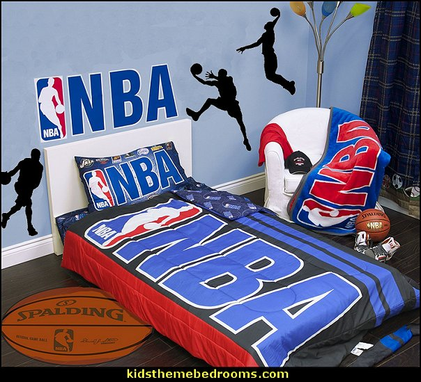 NBA bedding  basketball bedroom ideas - Basketball Decor - basketball wall murals - basketball bedding - basketball wall decal stickers - basketball themed bedrooms - basketball bedroom furniture - basketball wall decorations - Basketball wall art - Basketball themed rooms - basketball bedroom furniture - NBA bedding - Boys basketball theme