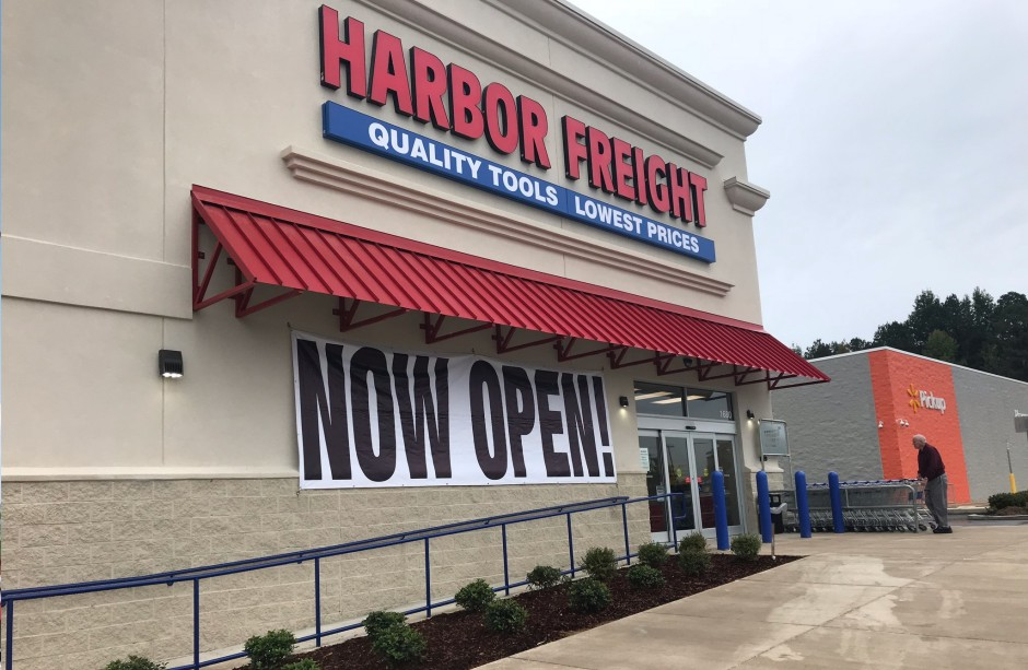 Sharp Realty and Management: Harbor Freight Tools open for