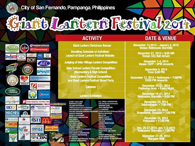 Giant Lantern Festival 2014 in San Fernando City Pampanga
