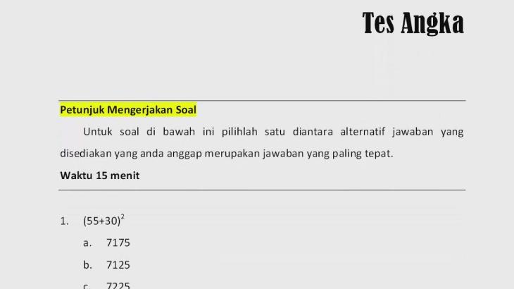 Soal Psikotes Polri Ebook Download