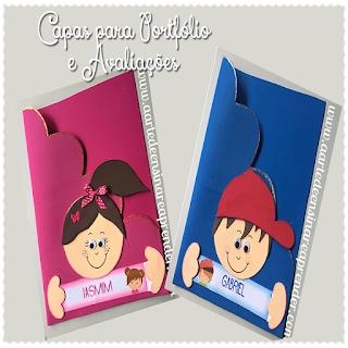 Capas para portf lio e avalia es a arte de ensinar e for Como colocar papel mural